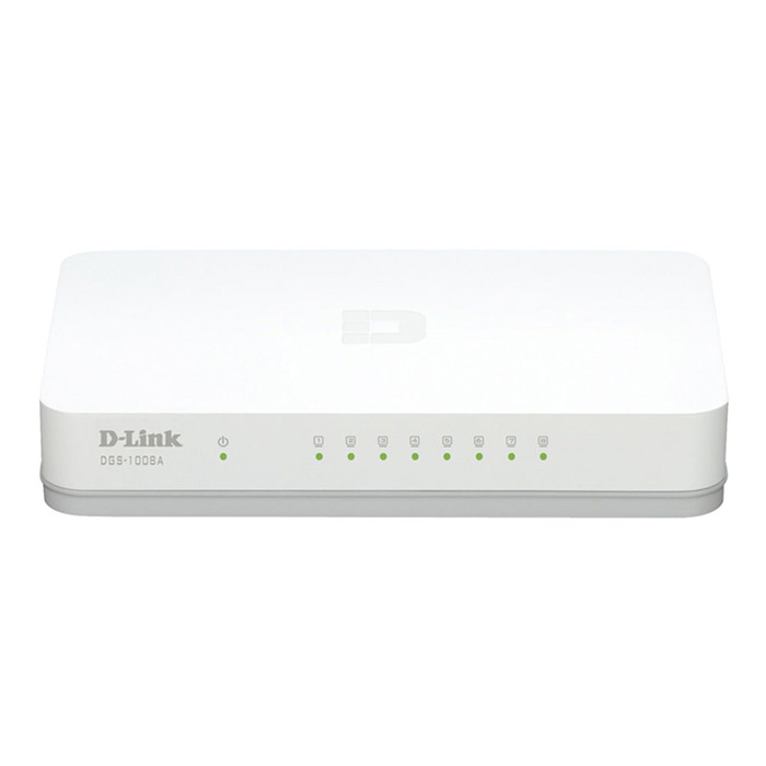 Dlink 8 Port Gigabit Switch DGS-1008A