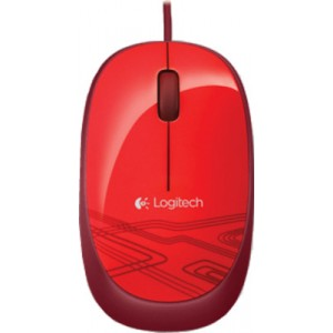 Logitech M105 USB Mouse Red 910-002933