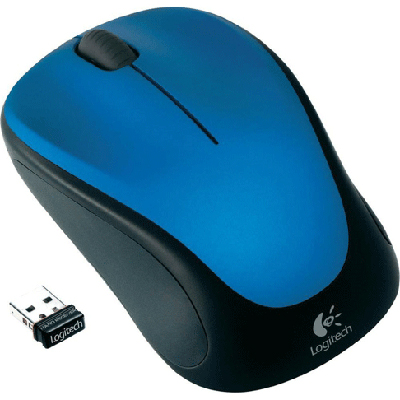 Logitech M235 Wireless Mouse Blue 910-003392