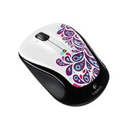 Logitech M235 Wireless Mouse Pink Splash 910-003400